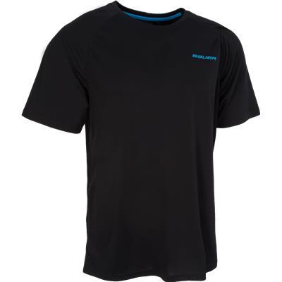 Black (Bauer Training Tee Shirt - Adult)