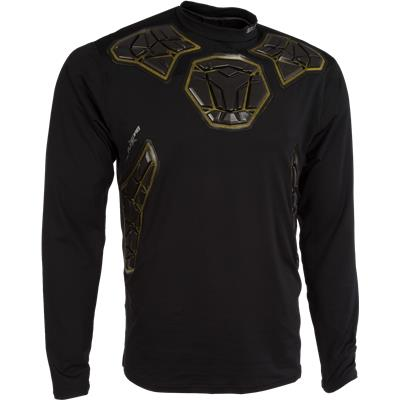 Elite Padded Goalie Long Sleeve Shirt (Bauer Elite Padded Goalie Long Sleeve Shirt - Mens)
