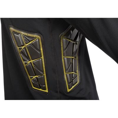 Rib Padding Detail (Bauer Elite Padded Goalie Long Sleeve Shirt - Mens)