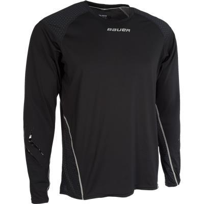 Premium Grip Crew Long Sleeve Shirt (Bauer Premium Grip Crew Long Sleeve Shirt - Youth)