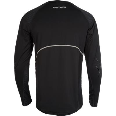 Back (Bauer Premium Grip Crew Long Sleeve Shirt)