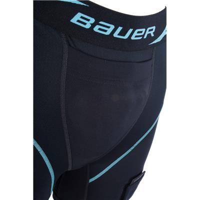 Closeup Of Front (Bauer NG Compression Jill Hockey Shorts - Womens)