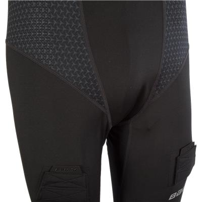 Closeup Of Front (Bauer NG Premium Compression Jock Pants)