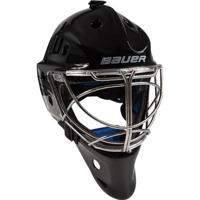 NME 8 Non-Certified Cat-Eye Cage - Black (Bauer NME 8 Non-Certified Cat-Eye Goalie Mask - Senior)