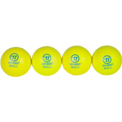 Four-Ball Set (Warrior Mini Hockey Speed Balls - 4 Pack)