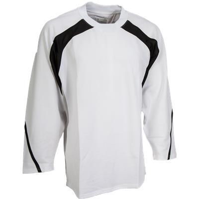 White/Black/Silver (FlexxIce LITE 17100 Practice Jersey - Senior)