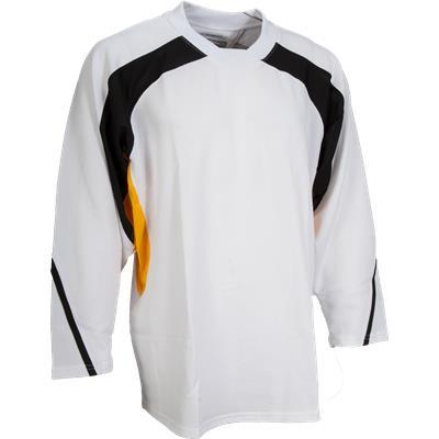 White/Black/Gold (FlexxIce LITE 17100 Practice Jersey)