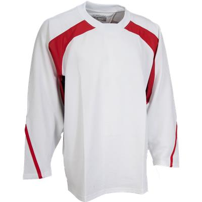 White/Red/Navy (FlexxIce LITE 17100 Practice Jersey)