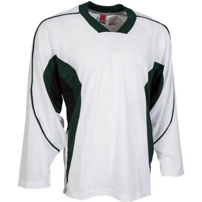 White/Green/Black (FlexxIce LITE 14100 Practice Jersey - Junior)