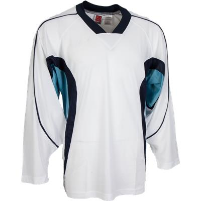 White/Navy/Baby Blue (FlexxIce LITE 14100 Practice Jersey - Junior)