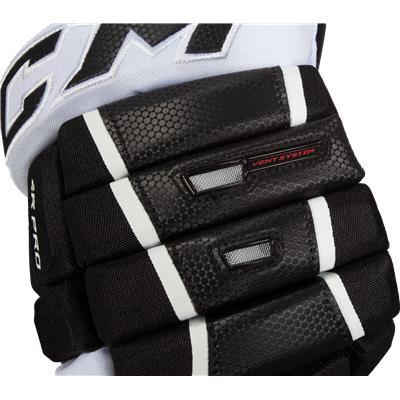 Backhand Protection (CCM 4R Pro Hockey Gloves)