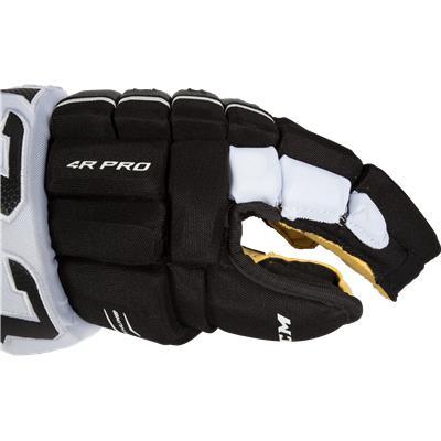 Side View (CCM 4R Pro Hockey Gloves)