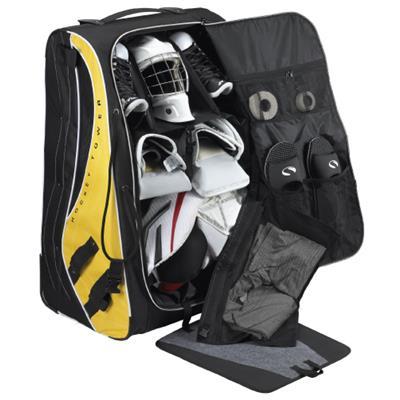 Grit Sumo Gt2 Goalie Tower Wheel Bag Intermediate Pure Hockey