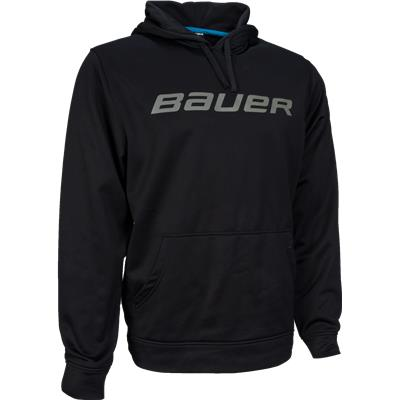 Black (Bauer Core Training Pullover Hoodie)