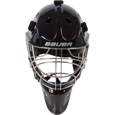 3f7309e3010 (Bauer NME 8 Certified Cat-Eye Goalie Mask - Senior)