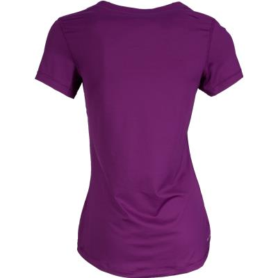 Back View (Nike Pro V-Neck Tee Shirt)