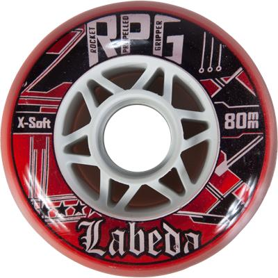 Clear/Red (Labeda RPG Inline Wheel)