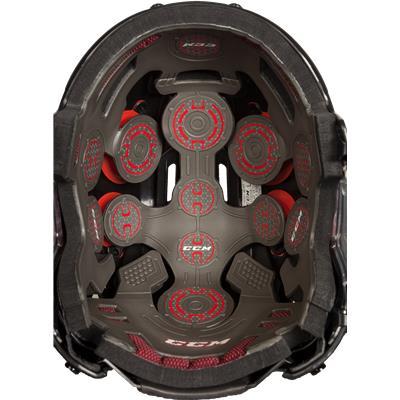 R.E.D. System (CCM Resistance Hockey Helmet)