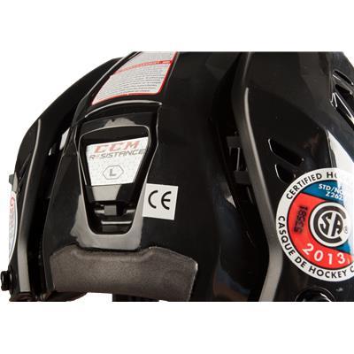 CE, CSA, HECC Certified (CCM Resistance Hockey Helmet)