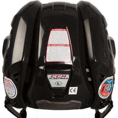 Back View (CCM Resistance Hockey Helmet)