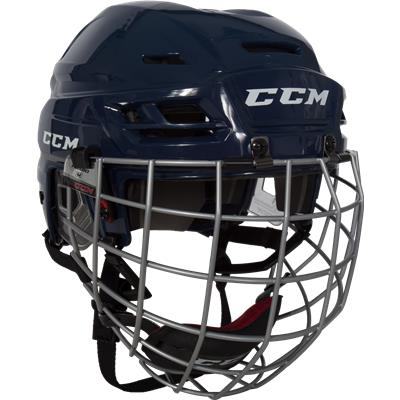 Navy (CCM RES 100 Hockey Helmet Combo)