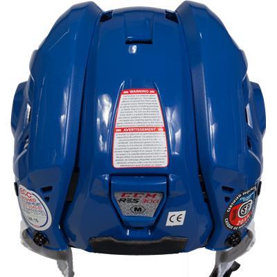 Back View (CCM Resistance 300 Hockey Helmet)