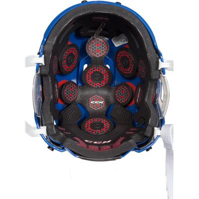 Inside View (CCM Resistance 300 Hockey Helmet)