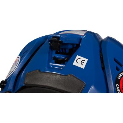 Adjustment View (CCM Resistance 300 Hockey Helmet)