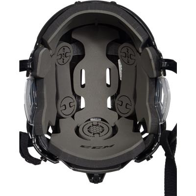 Inside View (CCM RES 100 Hockey Helmet)