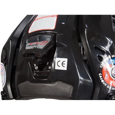 Tool-Free Adjustment (CCM RES 100 Hockey Helmet Combo)