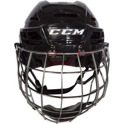 Front View (CCM Resistance Hockey Helmet Combo)
