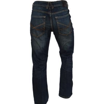 Back View (Bauer Relaxed Fit Jeans - Tinted Wash - Mens)