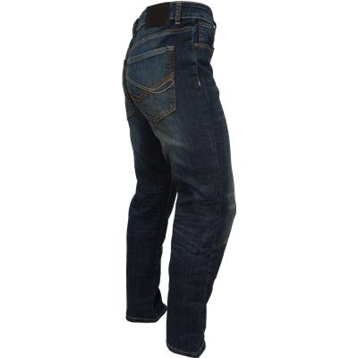 Side View (Bauer Relaxed Fit Jeans - Tinted Wash - Mens)