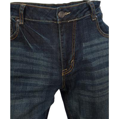 Button Closure (Bauer Relaxed Fit Jeans - Tinted Wash - Mens)