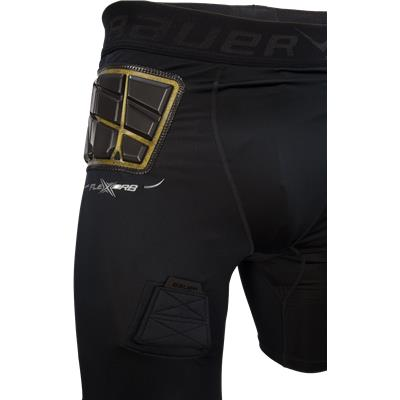 FireXorb Technology Allows For Better Protection (Bauer Elite Padded Hockey Jock Shorts w/ Cup - Mens)