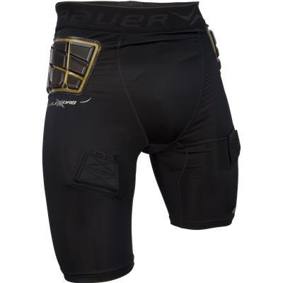 Mens (Bauer Elite Padded Hockey Jock Shorts w/ Cup - Mens)