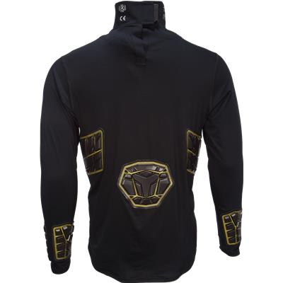 Back View (Bauer Elite Padded NeckProtect Long Sleeve Shirt - Adult)