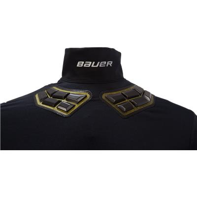 NeckProtect (Bauer Elite Padded NeckProtect Long Sleeve Shirt - Youth)