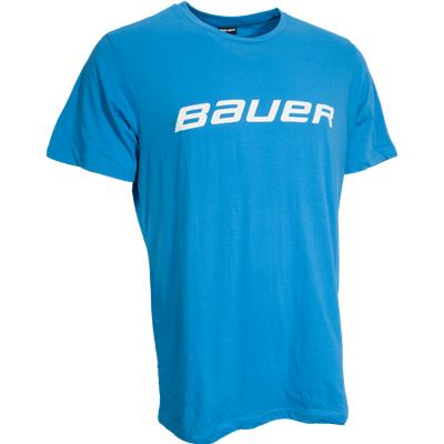 Neon Blue (Bauer Core Tee Shirt - Mens)