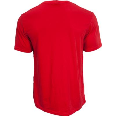 Back View (Bauer Core Tee Shirt - Mens)