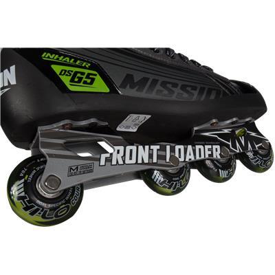 Cowling/Wheels/Chassis (Mission Inhaler DSG5 Goalie Skates)