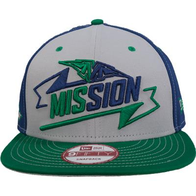 Front View (Mission Life On The Roll Snapback Hat)