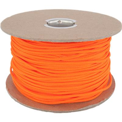 Neon Orange (Jimalax Crosslace Spool - 100 Yard)