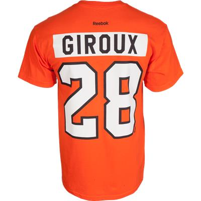 Claude Giroux No. 28 (Reebok Giroux Premier Tee Shirt - Mens)
