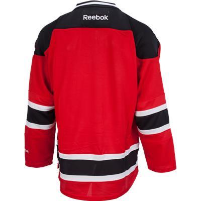 Back View (Reebok New Jersey Devils Premier Jersey - Home/Dark)