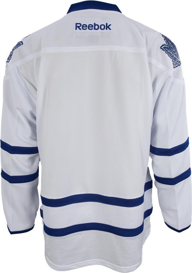 Back View (Reebok Toronto Maple Leafs Premier Jersey - Away White - Mens) 3b4333de4