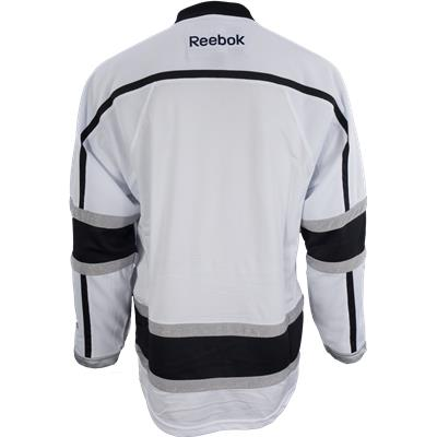 Back View (Reebok Los Angeles Kings Premier Jersey - Away/White)