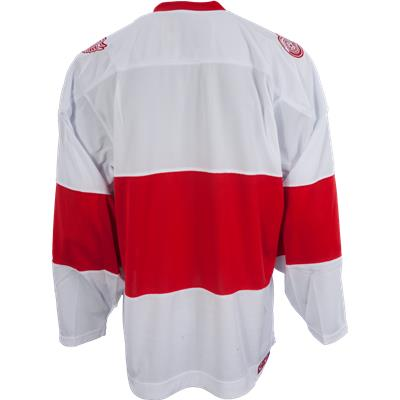 Back View (Reebok Red Wings Team Classics Jersey - Home/White)