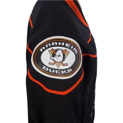 Shoulder View (Reebok Anaheim Ducks Premier Jersey - Home/Dark)