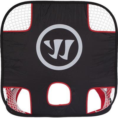Target Side (Warrior Mini Lacrosse Target Pop-Up Set w/ Travel Bag)